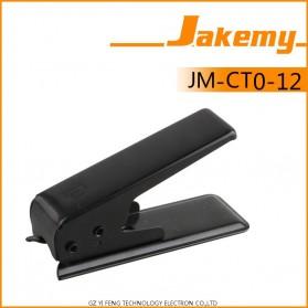 Jakemy Universal Micro SIM Card Cutter - Black