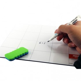 Jakemy Magnetic Work Mat Pad with Erasable Marking Pen & Brush - JM-Z09 - 3