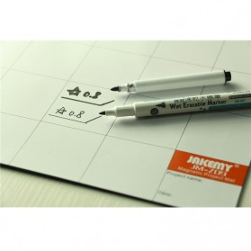 Jakemy Magnetic Work Mat Pad with Erasable Marking Pen & Brush - JM-Z09 - 5