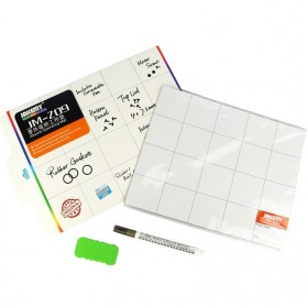 Jakemy Magnetic Work Mat Pad with Erasable Marking Pen & Brush - JM-Z09 - 6