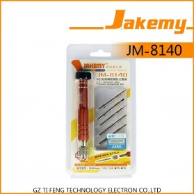 Jakemy 6 in 1 Screwdrivers Repair Tool Kit for Smartphone - JM-8140