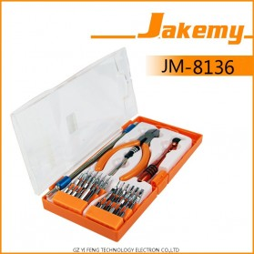 Jakemy 40 in 1 Chrome Vanadium Disassembling Multi-Bit Screwdrivers Set - JM-8136