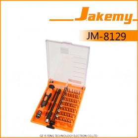 Jakemy 45 in 1 Interchangeable Magnetic Precision Screwdriver Set Repair Tools - JM-8129