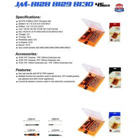 Jakemy 42 in 1 Interchangeable Magnetic Precision Screwdriver Set Repair Tools - JM-8128 - 6