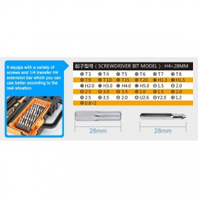 Jakemy 44 in 1 Professional Hardware Screwdriver Tools - JM-8152 - 6
