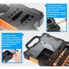 Jakemy 44 in 1 Professional Hardware Screwdriver Tools - JM-8152 - 7