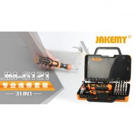 Jakemy 31 in 1 High Grade Screwdriver Set - JM-6121 - 7
