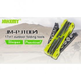 Jakemy JM-PJ1004 17 in 1 Multifunction Folding Screwdriver Kit - Green - 6