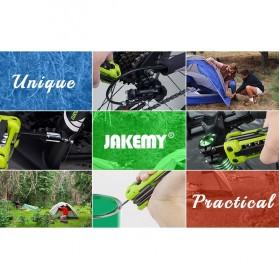 Jakemy JM-PJ1004 17 in 1 Multifunction Folding Screwdriver Kit - Green - 7