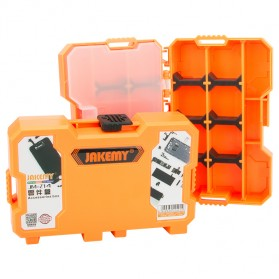 Jakemy Customizable Storage Container Box Kotak Kail Pancing - JM-Z14 - Orange