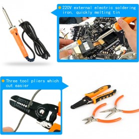 Jakemy 14 in 1 Primary DIY Soldering Tool Kit - JM-P14 - 5