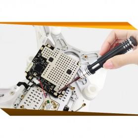 Jakemy 6 in 1 Screwdriver Kit Model - JM-8154 - Black - 5