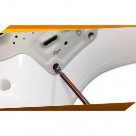Jakemy 6 in 1 Screwdriver Kit Model - JM-8154 - Black - 8