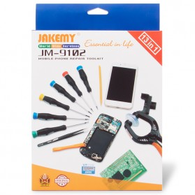 Jakemy 13 in 1 Smartphone Screw Driver Repair Tools Set - JM-9102
