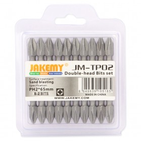 Jakemy 10 Double Head Bits PH2 65mm - JM-TP02