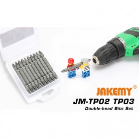 Jakemy 10 Double Head Bits PZ2 65mm - JM-TP03 - 4