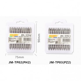 Jakemy 10 Double Head Bits PZ2 65mm - JM-TP03 - 5