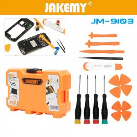Jakemy 18 in 1 Mobile Phone Smartphone Screw Driver Repair Tools Set - JM-9103 - 2