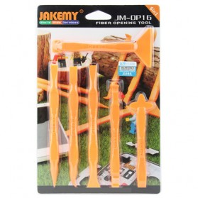 Jakemy 6 in 1 Multifunction Opening Ultra Thin Power Tools Kit - JM-OP16 - 1