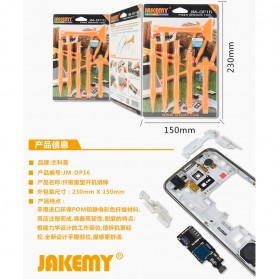 Jakemy 6 in 1 Multifunction Opening Ultra Thin Power Tools Kit - JM-OP16 - 7