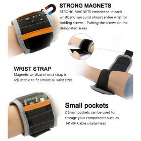 Jakemy Gelang Magnetic - JM-X5 - Black - 4