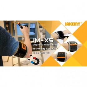 Jakemy Gelang Magnetic - JM-X5 - Black - 5