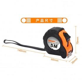 Jakemy Roll Meteran Magnet 5M - JM-R0405 - Orange - 5