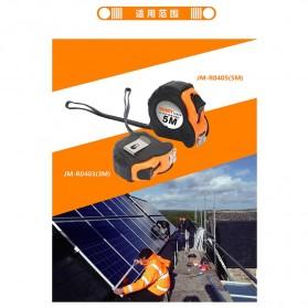 Jakemy Roll Meteran Magnet 5M - JM-R0405 - Orange - 6