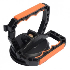 Jakemy Powerful Suction Bracket Alat Pembuka Layar Smartphone - JM-SK05 - Black/Orange - 2