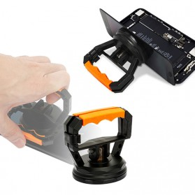 Jakemy Powerful Suction Bracket Alat Pembuka Layar Smartphone - JM-SK05 - Black/Orange - 3