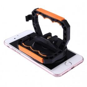 Jakemy Powerful Suction Bracket Alat Pembuka Layar Smartphone - JM-SK05 - Black/Orange - 4