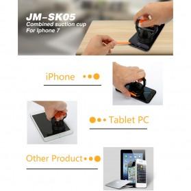 Jakemy Powerful Suction Bracket Alat Pembuka Layar Smartphone - JM-SK05 - Black/Orange - 5