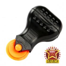 Jakemy Alat Reparasi Smartphone Roller Opener - JM-OP17 - Black/Orange