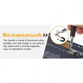 Jakemy Alat Reparasi Smartphone Roller Opener - JM-OP17 - Black/Orange - 5