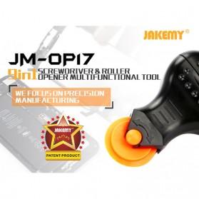 Jakemy Alat Reparasi Smartphone Roller Opener - JM-OP17 - Black/Orange - 8