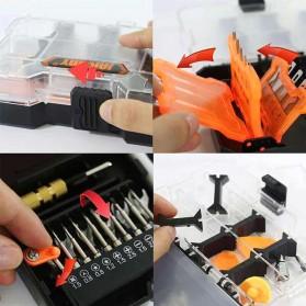 Jakemy 32 in 1 Pisau Ukir Pahat Kayu Woodworking Art knife Hardware Tools - JM-8158 - 4