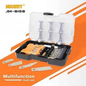Jakemy 32 in 1 Pisau Ukir Pahat Kayu Woodworking Art knife Hardware Tools - JM-8158 - 6