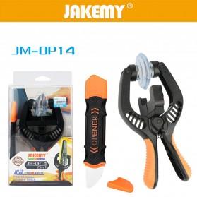 Jakemy Alat Reparasi Opening Tool Layar LCD Smartphone - JM-OP14 - Black/Orange