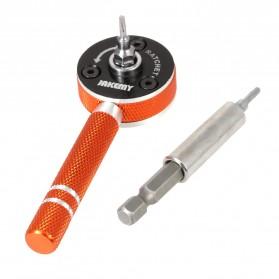 Jakemy 19 in 1 Obeng Set Fleksibel - JM-6119 - Black/Orange - 3