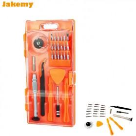 Jakemy Alat Reparasi Obeng Set Opening Tools Smartphone - JM-8144 - Black/Orange