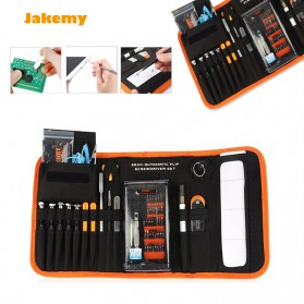 Jakemy Alat Reparasi Obeng Set Multifungsi with Portable Bag - JM-P13