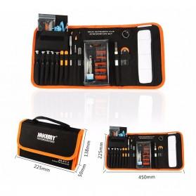 Jakemy Alat Reparasi Obeng Set Multifungsi with Portable Bag - JM-P13 - 2