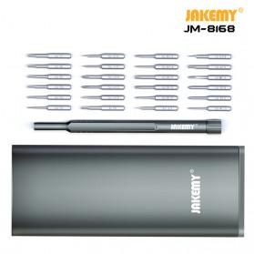 Jakemy 24 in 1 Obeng Set Premium Smartphone Pro Tech Driver Kit - JM-8168 - Black - 3