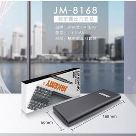 Jakemy 24 in 1 Obeng Set Premium Smartphone Pro Tech Driver Kit - JM-8168 - Black - 7