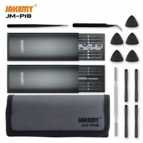 Jakemy 49 in 1 Obeng Set Portable & Precision DIY Screwdriver Tool Set - JM-P18