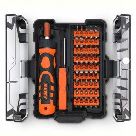 Jakemy 48 in 1 Obeng Household Tools Set Electronic Repair - JM-6124 - 3