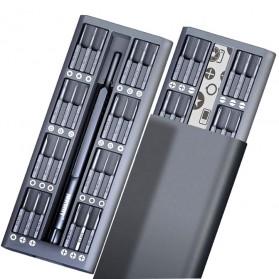 Jakemy 49 in 1 Obeng Set Premium Smartphone Pro Tech Driver Kit - JM-8169 - Black - 2