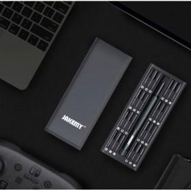Jakemy 49 in 1 Obeng Set Premium Smartphone Pro Tech Driver Kit - JM-8169 - Black - 3