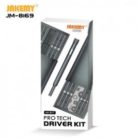 Jakemy 49 in 1 Obeng Set Premium Smartphone Pro Tech Driver Kit - JM-8169 - Black - 8