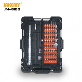 Jakemy 62 in 1 Obeng Set Multifunctional Screwdriver S-2 High Grade - JM-8163